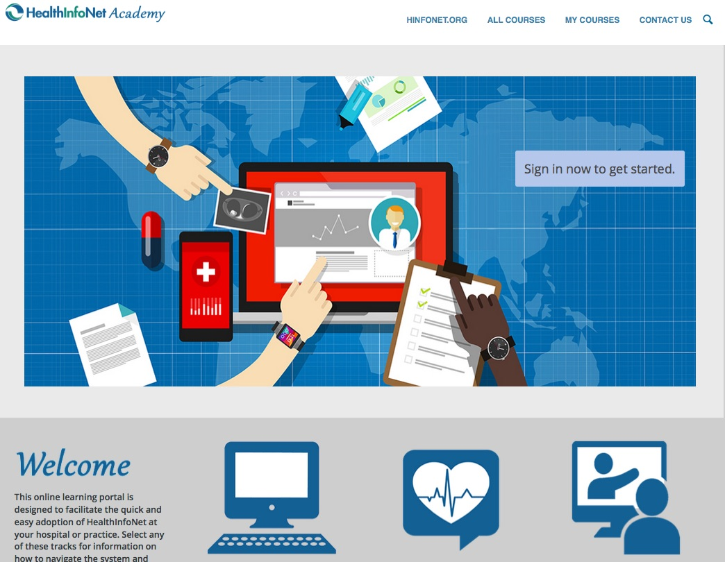 HealthInfoNet Launches Online Training Academy